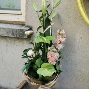 """Bouquet bulle hauteur """"Maman Nature"""""""