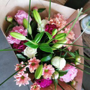 """Bouquet tige """"Douceur"""""""