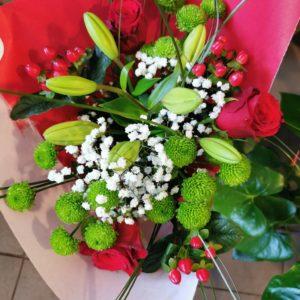 """Bouquet tige """"Maman d'Amour"""""""