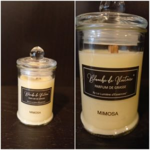 Bougie 25h Parfum Mimosa